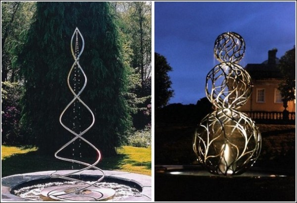 Парковая скульптура Джайлса Рейнера: «Спираль», «Топиарий»