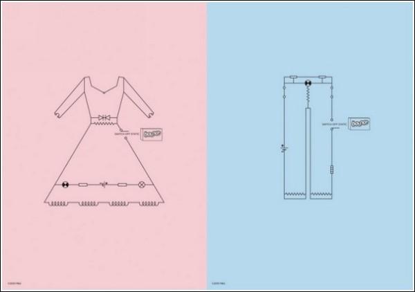 Разомкни цепь: реклама антистатика для одежды