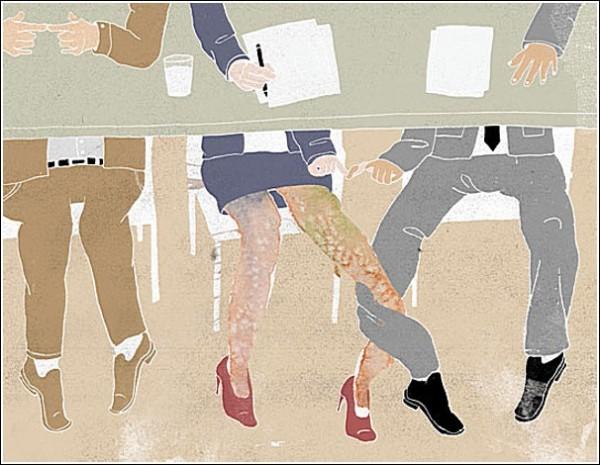 Сплетенье рук и ног. Акварельные рисунки Ко-Хсин Хонг