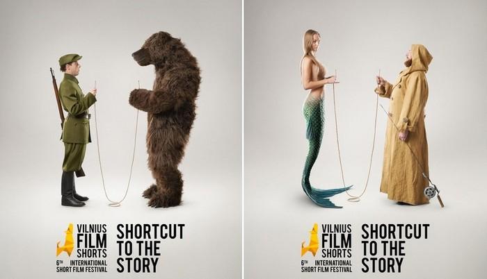 Короткий метр: оригинальная реклама кинофестиваля