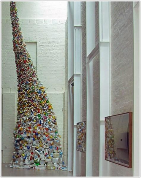 Мусорный рог изобилия: арт-объект Ванга Чжиюаня в защиту экологии