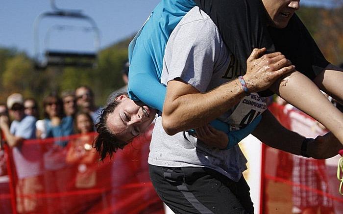 Семейный забег - 2011: гонки с женами наперевес