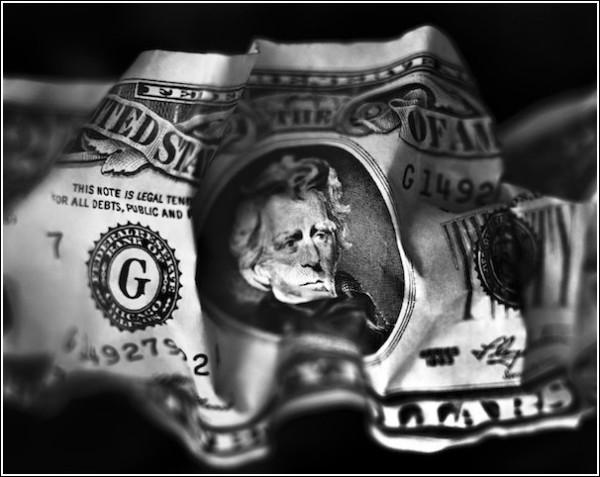 Черно-белые снимки Вильяма Кастелланы: 20 долларов