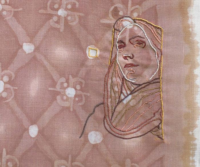 Винная художница и вышивальщица: творчество Амелии Харнас