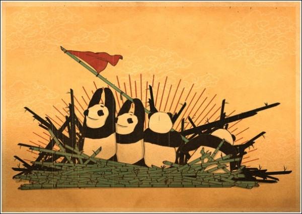 Революционные красные панды: поднять флаг!