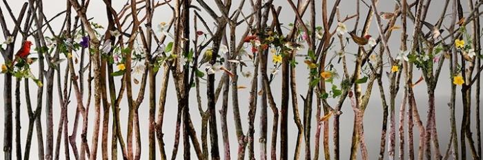 Лес: живописные фотокомпозиции Изабел Лемэй