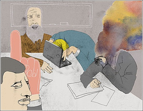 *Нулевая видимость*. Акварельные рисунки Ко-Хсин Хонг