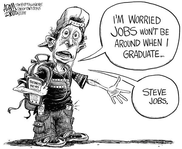 Джобс или работа?