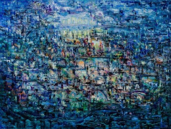 Николай Чередниченко, Видение, 2004, 90х120, масло/холст