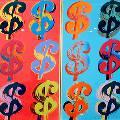 «Один доллар» Уорхола продали за 32,6 миллиона
