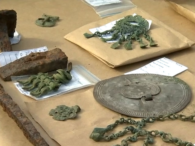 В Болгарии открылась выставка конфискованных у «черных археологов» артефактов