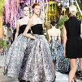 На неделе высокой моды в Париже прошёл показ Christian Dior