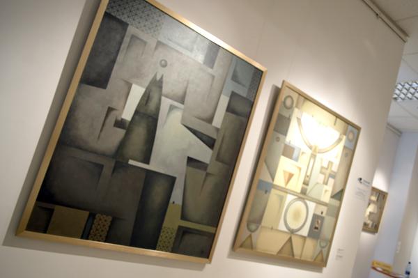 В Екатеринбурге открылась выставка «исчезающих картин»