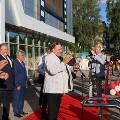 Депардье открыл культурный центр в Саранске