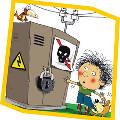 В начале учебного года состоялась премьера детского спектакля по электробезопасности «Ток и Кот»