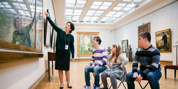 Летняя школа инклюзивных практик открылась в Пушкинском музее