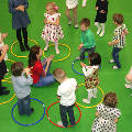 Тренировки и физически укрепляющая акробатика для детей в hippo-land