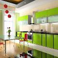 Яркие цвета в интерьере как современный кухонный тренд