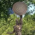 В Бруклине поставили памятник Капитану Америке