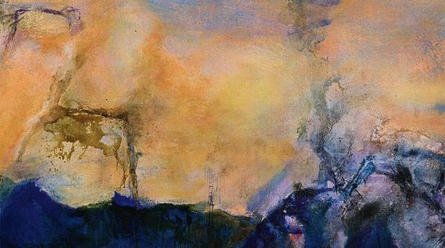 Картину художника Чжао Уцзи продали за рекордные $65 млн