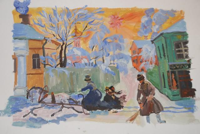 Картины Ларионова, Кустодиева и Поленова выставили на аукционе в Лондоне