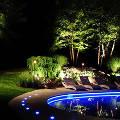 Как эффектно использовать светодиоды в ландшафтном освещении