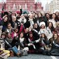 В Москве встретили участниц конкурса «Мисс Вселенная 2013»
