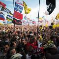 Рок-фестиваль «Нашествие» превратился на фоне ситуации на востоке Украины в плацдарм боевой техники