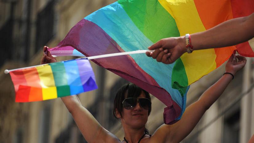 На Бродвее высмеяли запрет гей-пропаганды в России