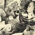 Рисунок Пикассо продали на аукционе в Париже почти за €300 тыс.