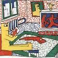 Рисунок Виктора Цоя с битвой квадратноголовых человечков продали с аукциона за четверть миллиона