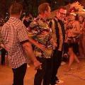 Сталлоне исполнил гавайский танец на дне рождения Шварценеггера