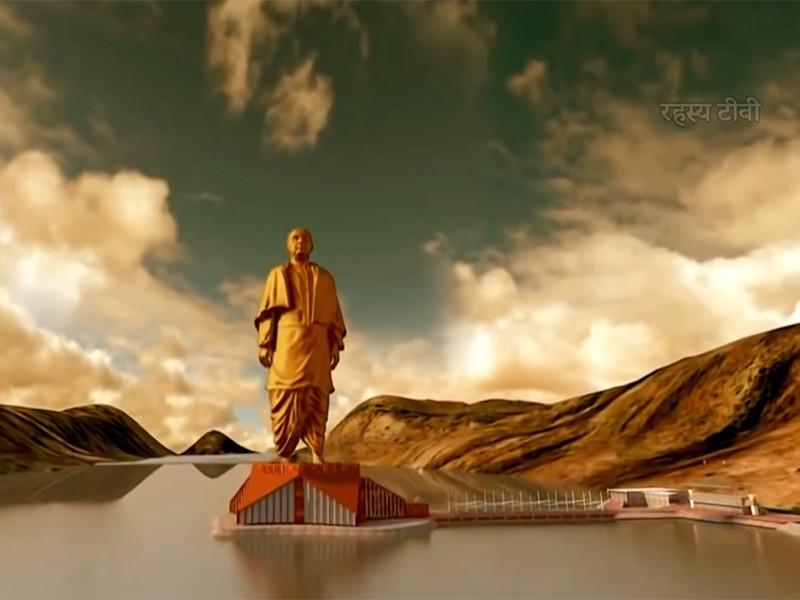 В Индии завершают строительство самой высокой статуи в мире - 240 метров с постаментом, что в 2,5 раза выше статуи Свободы