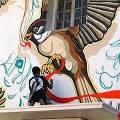 Фестиваль стрит-арта проходит в Нью-Дели