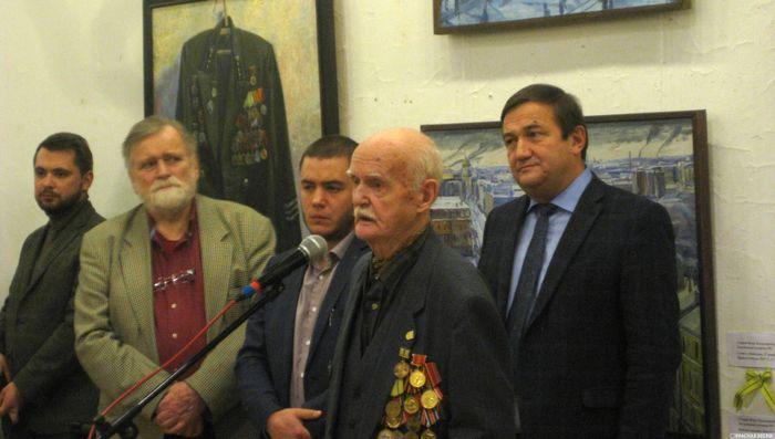 В Петербурге открылась выставка художников-ветеранов, переживших блокаду Ленинграда