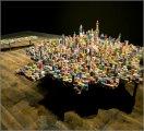 Необычные макеты фантастических городов Современное искусство Арт.