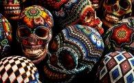 Проект Beaded Skulls от Катерины Мартин (Catherine Martin).  Традиционный, обязательный и неизменный атрибут...