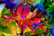 Электронное цветение: гламурные фотографии цветов от знаменитого Torkil Gudnason