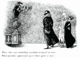 ����������� ������� � ����������� � ����� ������ ������� ����  (�Elegant Enigmas: The Art of Edward Gorey�)