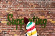 Экологичные граффити, сделанные из мха