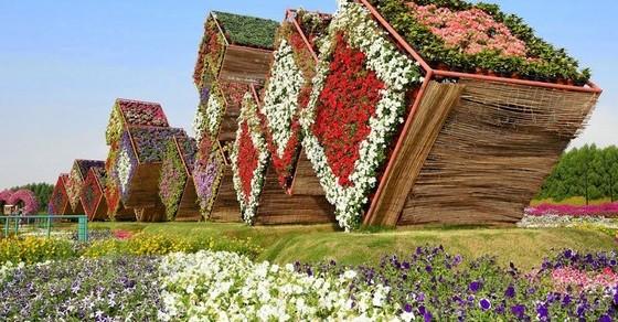 Сад чудес в Дубае: 20 великолепных видов цветочного парка