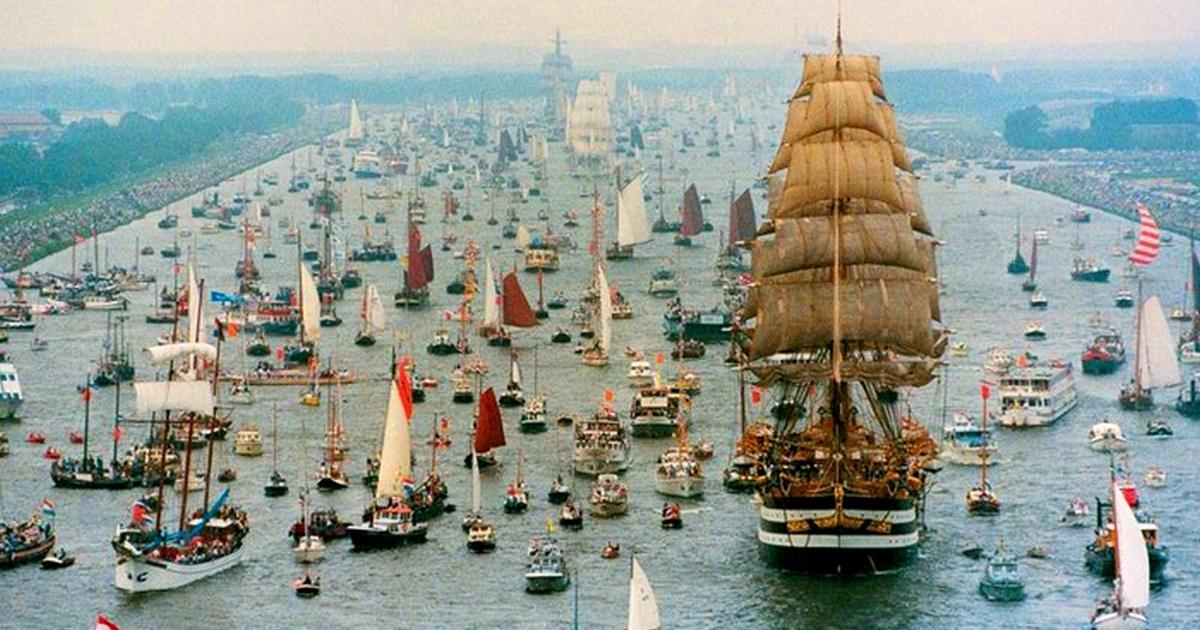 Самый большой парад судов: SAIL Amsterdam - уникальная возможность увидеть самые прекрасные корабли