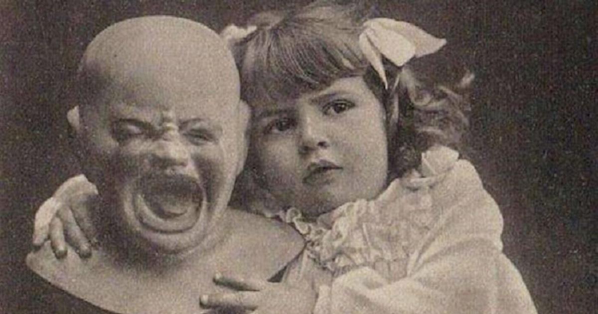 Жуткие старые фото » Страшные истории
