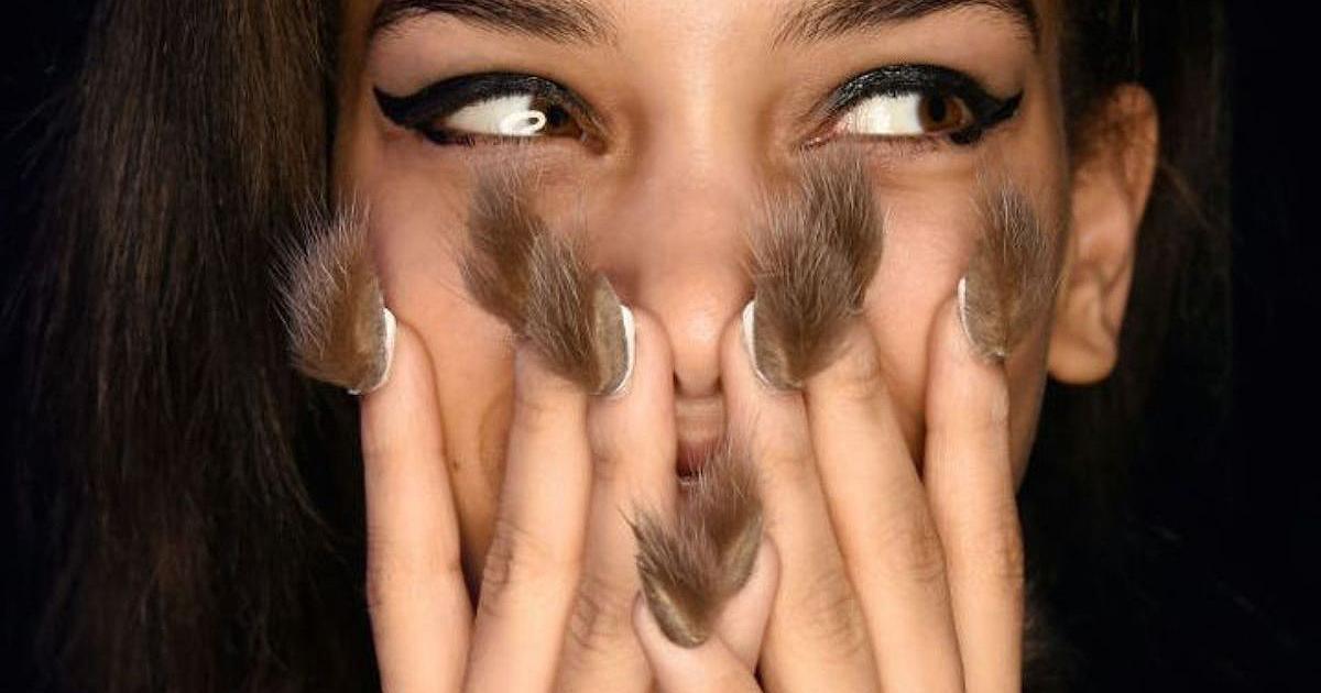 Интернет бум: Ногти оборотня – модный тренд сезона...