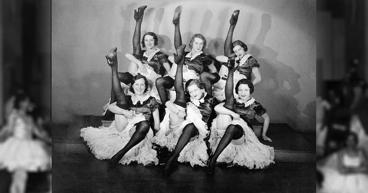18 редких старых фотографий кан-кан танцовщиц из Мулен Руж