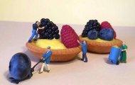Сладкая жизнь: 13 великолепных миниатюрных сцен, сделанных из десертов