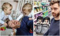Папа четверых девочек ведет забавный Инстаграм о трудностях родительского быта