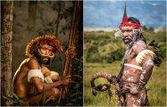 18 колоритных снимков племени Дани с острова Новая Гвинея