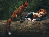 Рыжеволосые красавицы: обворожительные снимки рыжей лисы и девушек с огненными волосами
