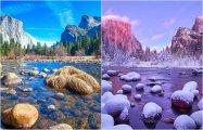 30 невероятных пейзажных видов в разные поры года